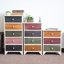 G927-3 Wooden Ceramic Multi Drawers Chest