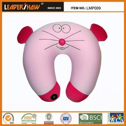 animal penguin shape cute and fashionable music neck pillow