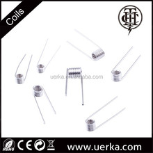 E cigarette coils Nickel Clapton Coils for Wholesale, Two Coils Pre-wrapped Resistance Wire for Vapor