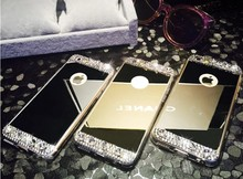 Hot!!! New products Fashion diamond tpu bumper cases for iphone 5, for iphone 5 accessoires