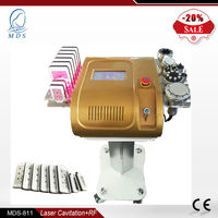 High Quality Ultrasound 6in1 Lipo Laser RF Cavitation Liposuction Machine
