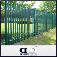 2015 new Fish plate powder coated Palisade fencing/ Villa fencing Trading company service wholesale price