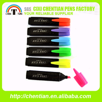 China Supplier High Quality Promotional Flower Shaped Highlighter Set