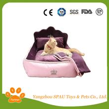 Best selling China dog pet bed/plush cat beds
