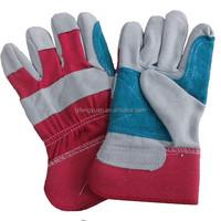 Split leather gloves work Shandong