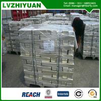 China pure magnesium ingot for aluminum factory