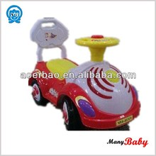Baby Car Toy Vehicle With Foot Power Carton Design