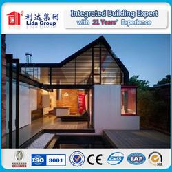 Factory price Modular modern prefab timber home