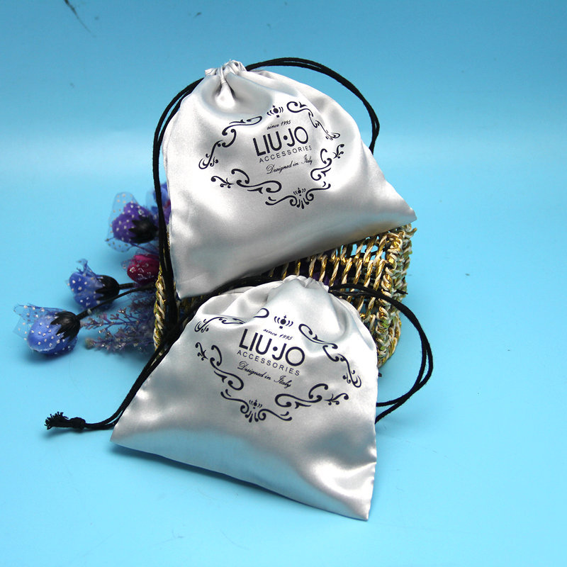 Wholesale OEM silk satin organic tea packaging pouches /empty tea bag
