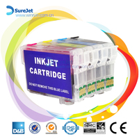 Compatible cartridge Stylus SX410 for Epson T0711 with reset chip 12ml