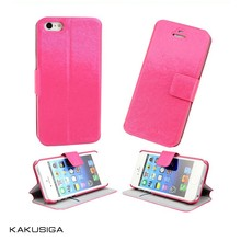 Guangzhou manufacture flip leather mobile phone shell for iphone 5 5s