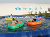 High Quality Animal Inflatable Electric Water Bumper Boat for Sale