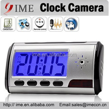 Spy Clock Hidden Camera Alarm Clock Camera Wireless Remote Control Table Clock Spy Cam