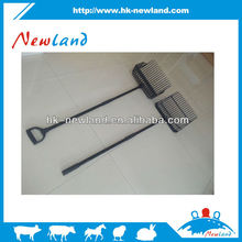 NL923 Hot sales farming equipments plastic hay pitchforks