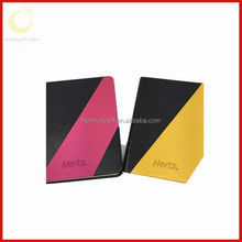 2015 hot sale A4/A5/A6 Hard Cover Custom Spiral Note Book With Color Pages