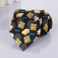 Print silk necktie with animal design manufacturers china online shopping