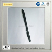 customized high precision cnc titanium pen parts, titanium anodized