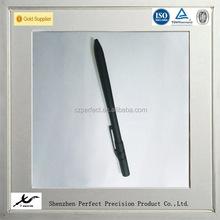 customized high precision cnc titanium pen parts, titanium anodized