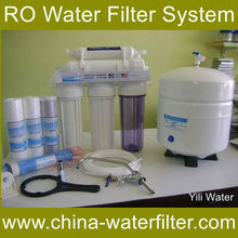 5 stage reverse osmosis water filter system Wall mounted RO membrane hospital ro water system