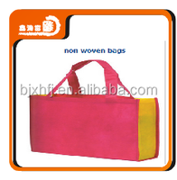 custom gift folding cheap handmade non woven cloth shopping bag