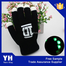 2015 Wholesale Flashing LED Gloves as Rave Party Favor