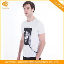 100% Cotton Custom t Shirt Men Shirt O-neck Plain t Shirt
