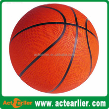 cheap official size 7 strong rubber basketball