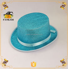 Fashion Glitter Decorate Fedora Hat for Party