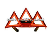3 Triangle Road Safety Warning Triangle Kit