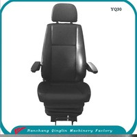 Top quality quality HOWO 6X4 10 wheeler dump truck seat made in China with factory price, construcon vehicle seat(YQ30)