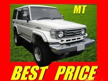 1999 TOYOTA Land Cruiser ZX /KC-HZJ77HV/ Used Car From Japan (504760-2530-3)