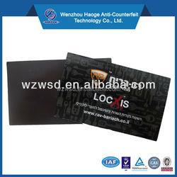 Promotional magnetic business card & paper fridge magnet, advertising refrigerator business card