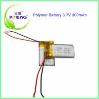 Magic power 502035 300mah 3.7v lipo battery pack