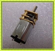 silent 12mm gearbox battery operated mini 3v door lock actuator motor