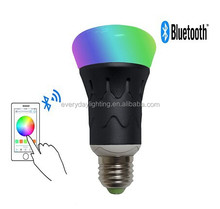Smart Bluetooth LED Light Bulb 6w a Iphone and Android Devices for Home and Office
