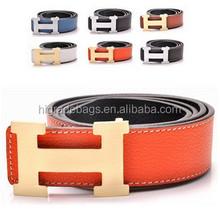 2015 new models belt factory high quality fashion genuine leather belt, man belt