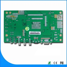 Our company design 6 bit and 8bit LVDS signal monitor board