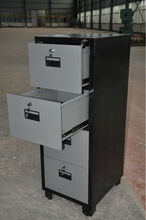 customized UL 2 hour fire resistant filing cabinet, 4 drawer