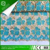 2015 Latest design african beaded cord lace fabric for wedding dress