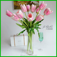 High quality OEM artificial tulip flowers