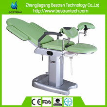 BT-GC002B Luxury height fixed medical manual gynaecological examination bed