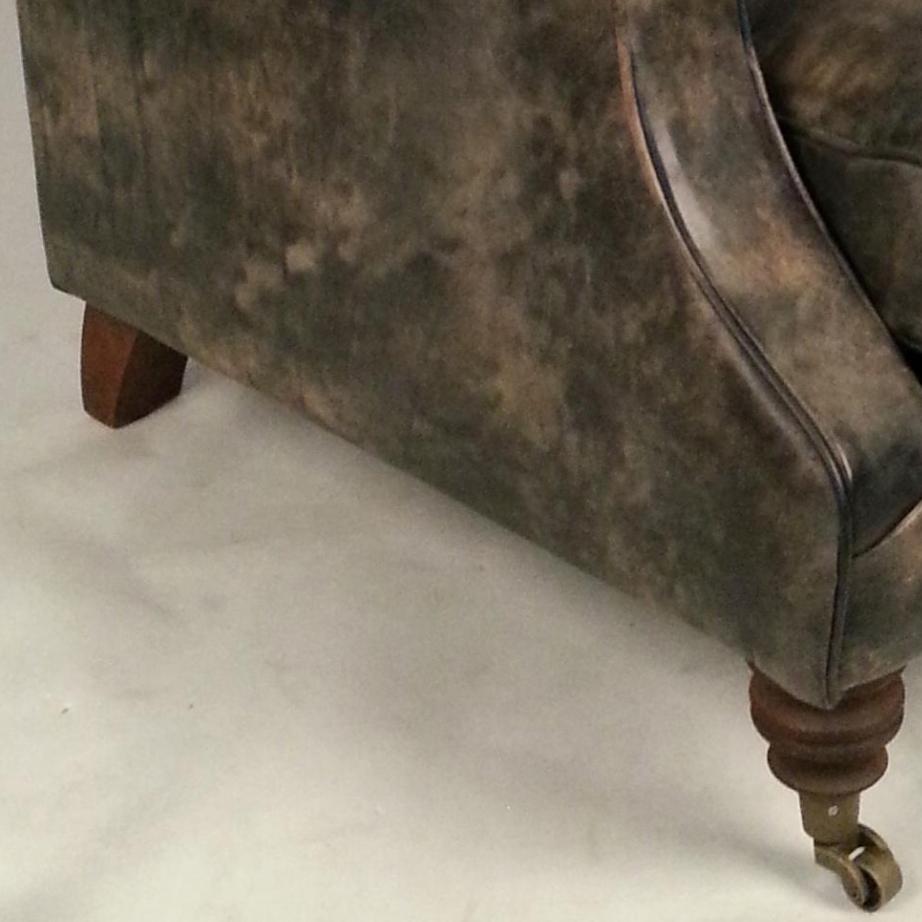 r tro traditionnel anglais chesterfield canap chaise en cuir vieilli canap salon id du produit. Black Bedroom Furniture Sets. Home Design Ideas