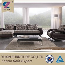 Foshan golden diwan furniture,latest design luxury furniture fabric leather sofa set