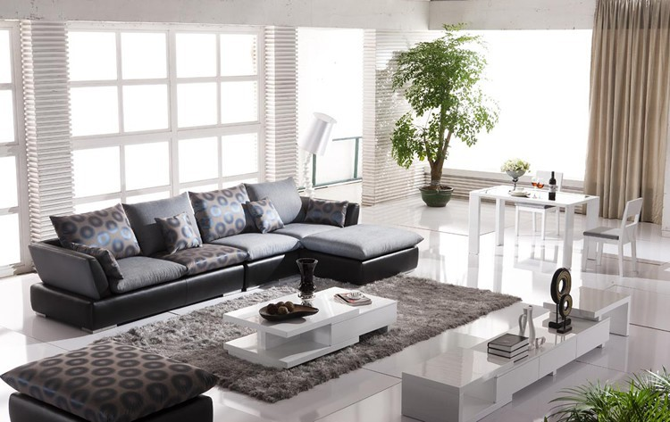 Latest Wooden Sofa Designs For Drawing Room : 2015 latest sofa design living room sofa furniture Wooden Furniture ...