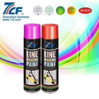 Thermoplastic Glow In The Dark Fluorescent Road Marking Paint