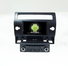Quad-Cord Android 4.4.2/5.0 Car dvd for Citroen C4 with car GPS/Glonass,Bluetooth,DVD,Radio, 3G, Wifi, Mirror-Link support SWC