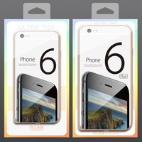 Mobile Phone Case Package PVC Transparent Plastic Retail Packaging Box for iPhone 6 6 Plus Slim Bumper Frame Phone Case