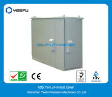 Outdoor Cabinet Power Box Alluminium Zinc Magnesium-plated Steel