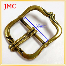 35mm mfg antibrass leather pin buckle