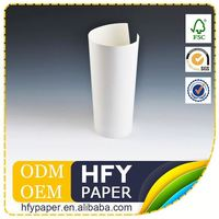 Lowest Cost Oem Production Factory Supply White Color Air Filter Paper (Wood